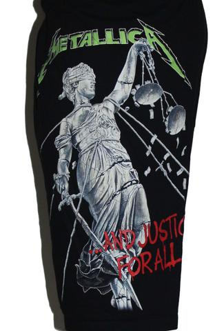 Metallica Premium Shorts Free Size (28 inches to 40 inches)