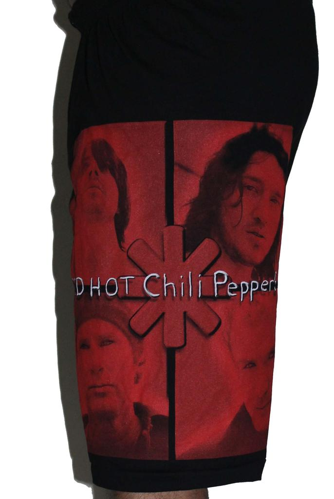 Red Hot Chili Peppers Premium Shorts Free Size (28 inches to 40 inches)