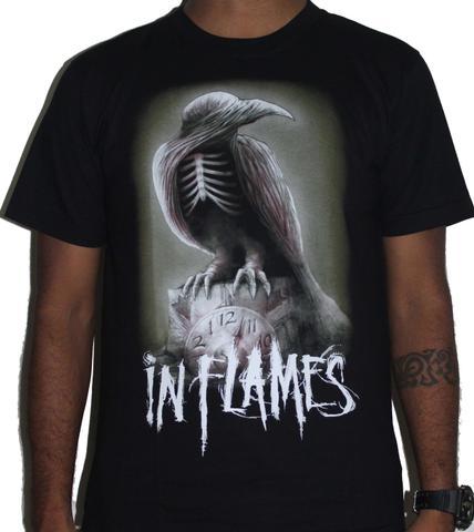 In Flames Premium Tshirt