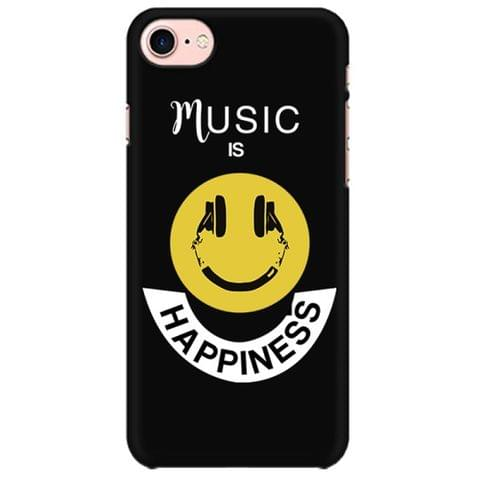 Music is Happiness Mobile back hard case cover - ZJWXYFFJGBP7