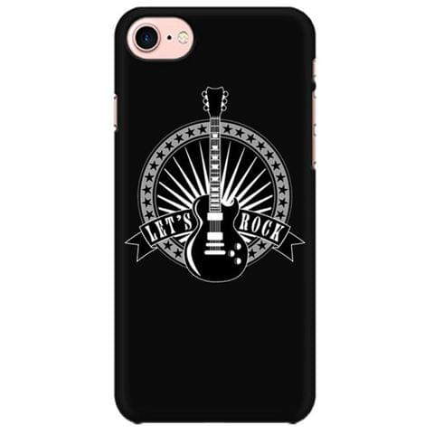 Lets Rock Guitar  Mobile back hard case cover - ZQETRX7ZKF7XQSA