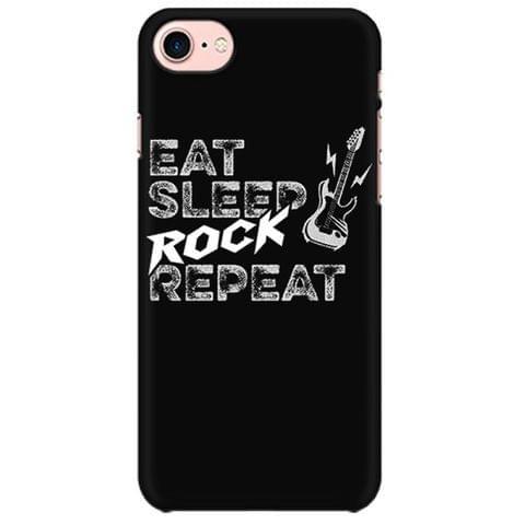 Vintage Eat Sleep Rock Repeat New Design Mobile back hard case cover - ZTYWRXNLTVAM