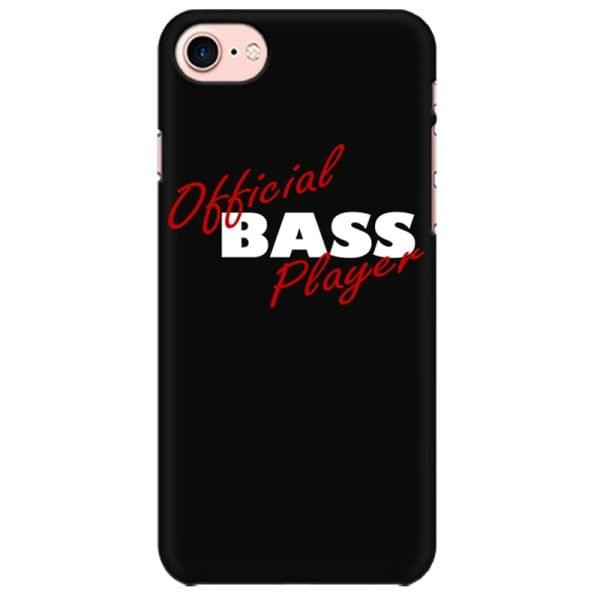 Official Bass Player Mobile back hard case cover - QG4WAWEGTM7R