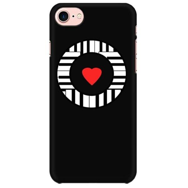 Keyboardist Heart Art Mobile back hard case cover - QQRH26P2JCW4