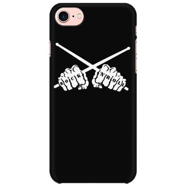Rock n Roll Drummer  Mobile back hard case cover - MCUSEHPUX5XNFLM