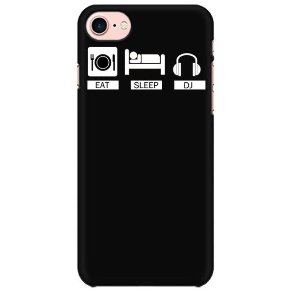 Eat Sleep DJ repeat Mobile back hard case cover - MXXWLPRSKMSH