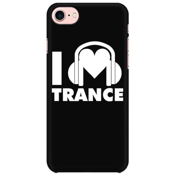 I love Trance Mobile back hard case cover - L3N2HNXSNVVU