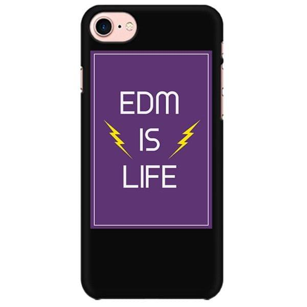 EDM is Life Mobile back hard case cover - L63UU9ZV2C4E