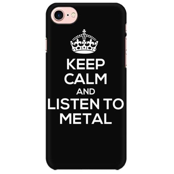 Keep calm listen to Metal  Mobile back hard case cover - LC2P8EUSHW9QHZC