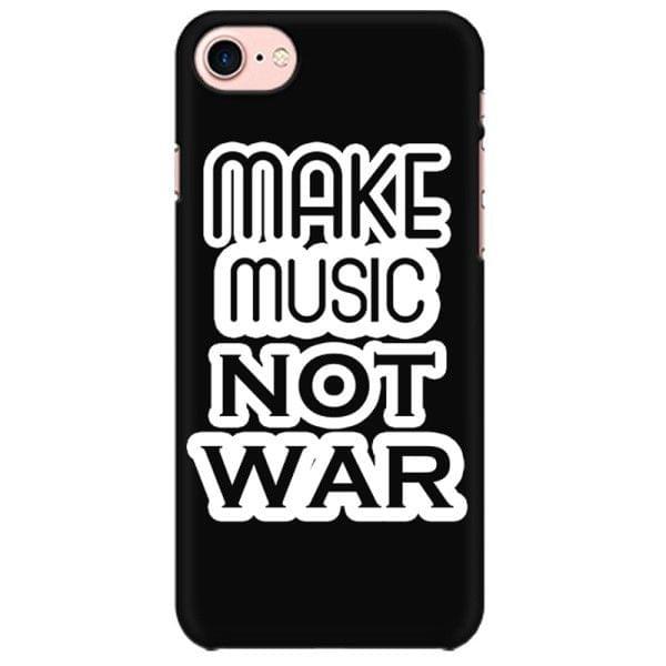 Make music Not war Mobile back hard case cover - LGMHEVPBQ61F