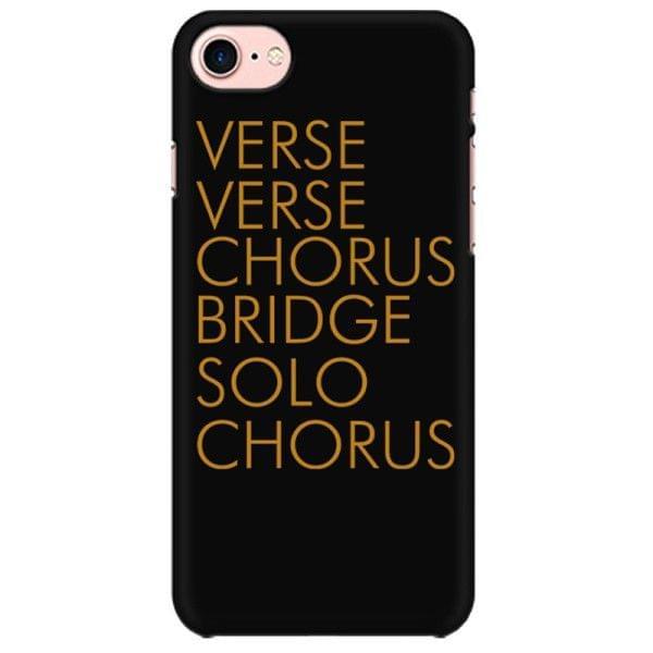 Verse Verse Chorus Bridge Solo Chorus Mobile back hard case cover - LW6DXSB4JXNC
