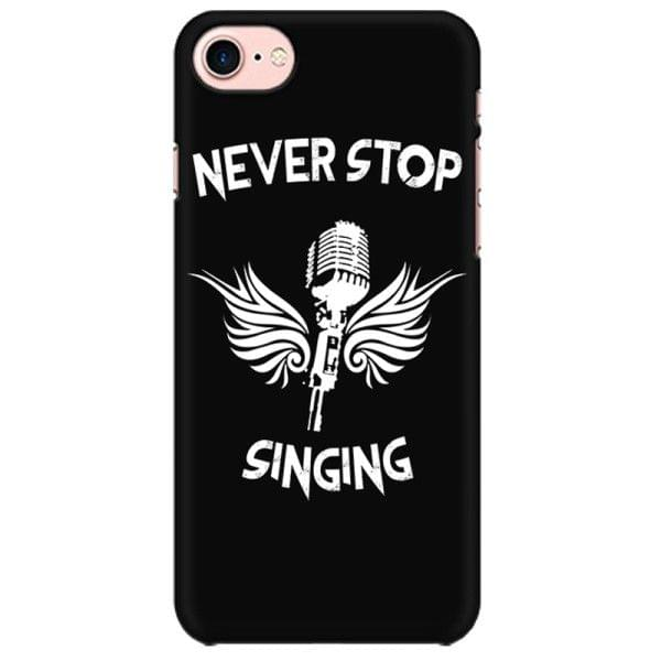 Never Stop Singing  Mobile back hard case cover - JA98EVF7YWRDKEL