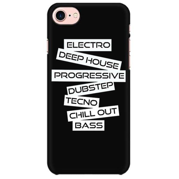 EDM - Dubstep House Progressive Trance Hardstyle Drum Bass Electro Industrial Rave  Mobile back hard case cover - JRCVZLTTR4KK