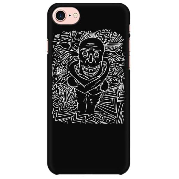 Deaf and Dead when High  psy Trippy Psychedelic  Mobile back hard case cover - JUQ7CSK2R51V