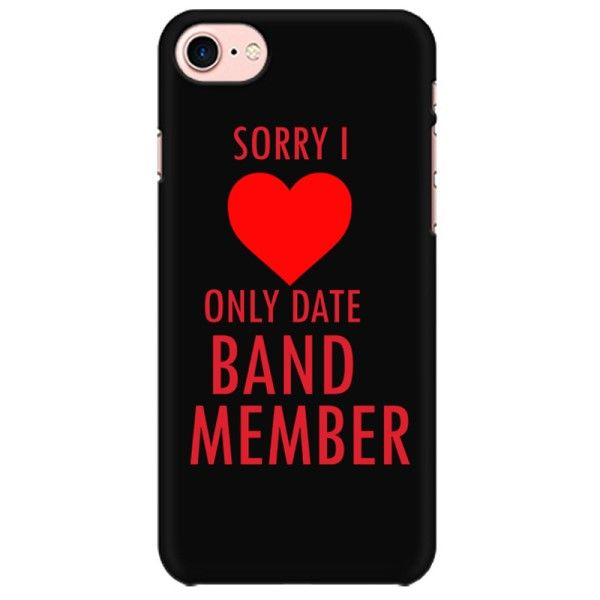 Date only band Members Mobile back hard case cover - JX97U5WHZ2XJ