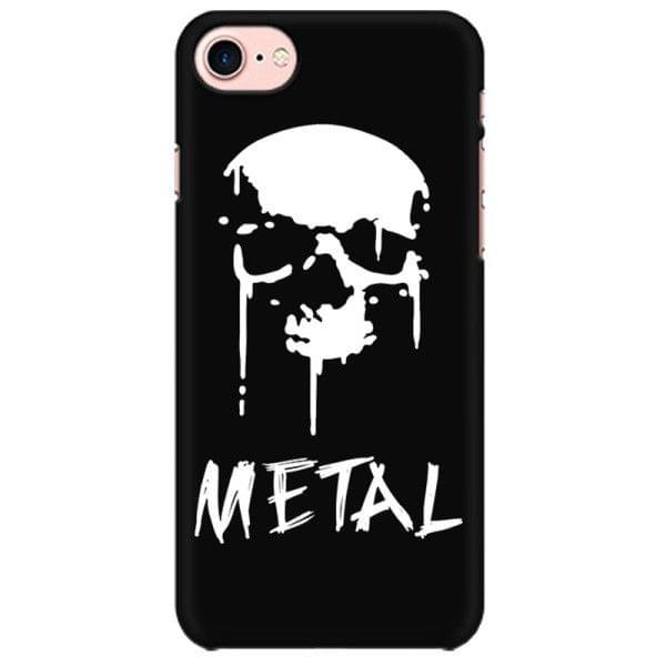 SKULL BLOOD SPLATTER METAL   Mobile back hard case cover - KKTZY5TFLRBU46T
