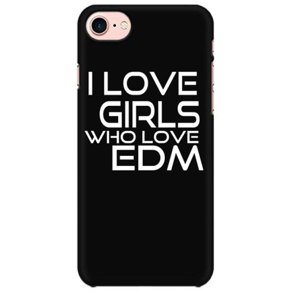 EDM girls Mobile back hard case cover - G89K4ERG48PF