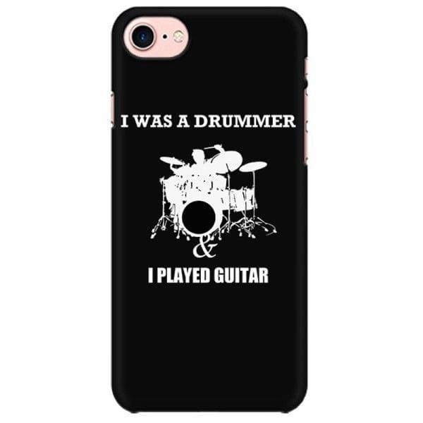 Drummer Guitarist Dilemma  Mobile back hard case cover - E3KCGXDDVR6D