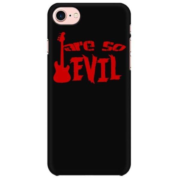 Bassist are so Evil Mobile back hard case cover - EJ57L4TUGQYT