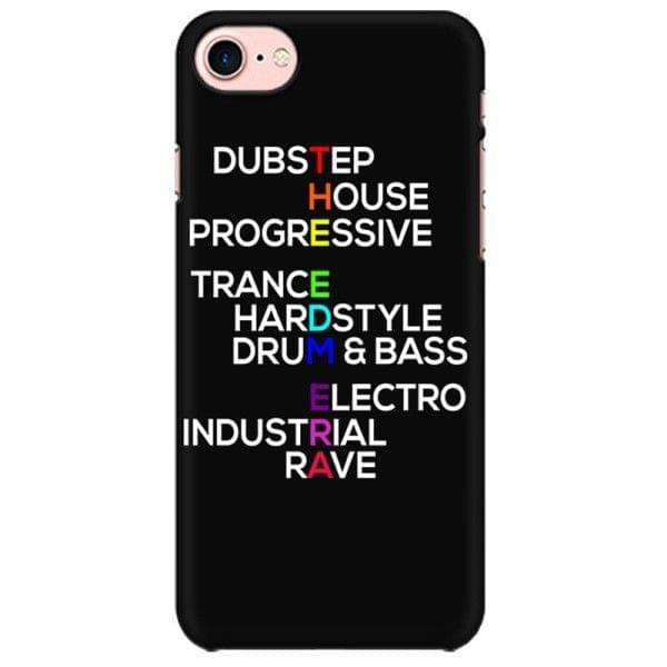 Edm Era Dubstep House Progressive Trance Hardstyle Drum Bass Electro Industrial Rave  Mobile back hard case cover - ELAZNFACTV5ZGFH