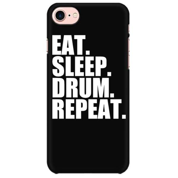 Eat Sleep Drums Repeat Mobile back hard case cover - F37K6W2ZQMWZ
