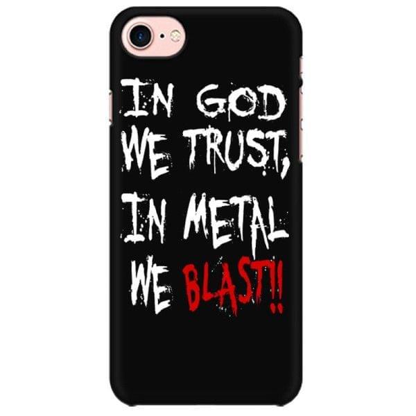 IN Metal we Blast Mobile back hard case cover - BCX4QECWDM16