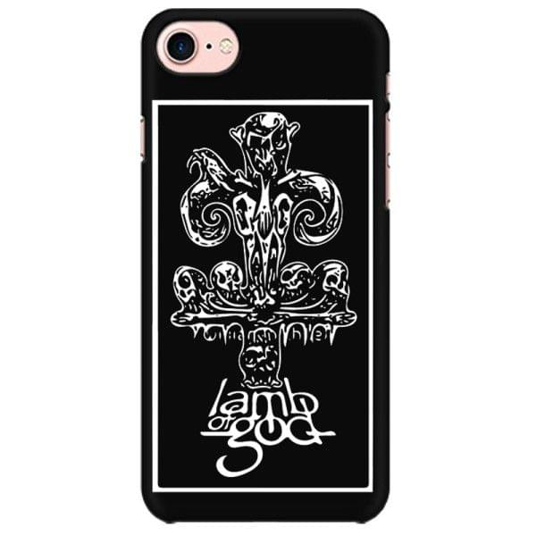 Lamb of God rock metal band music mobile case for all mobiles