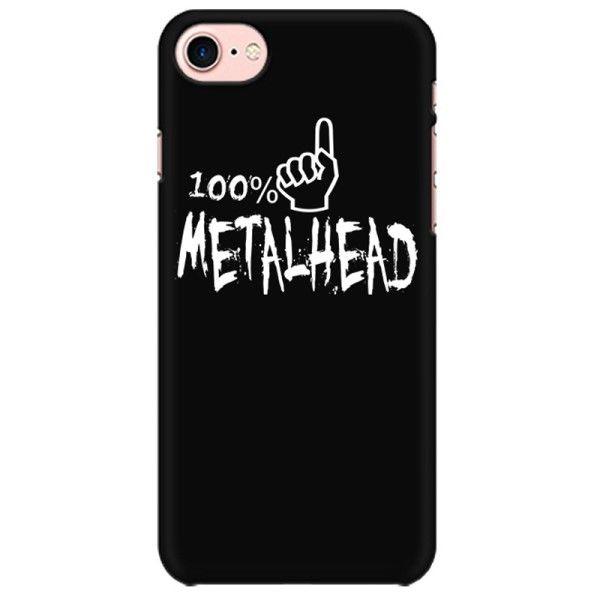 100% Metalhead Mobile back hard case cover - 8W3MYDMQK4R4