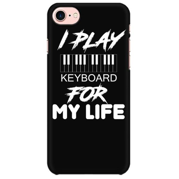 Keyboard for Life Mobile back hard case cover - 9QGKSQXD6HSE