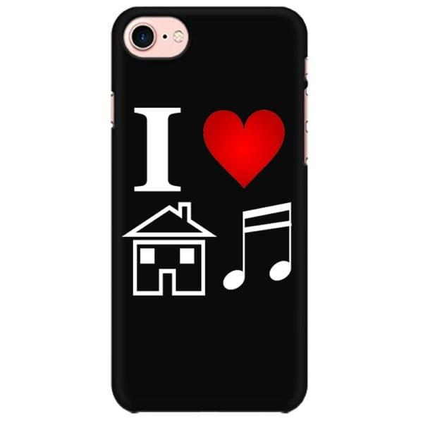 Love for House Music Mobile back hard case cover - A2E8K2XMA2GM