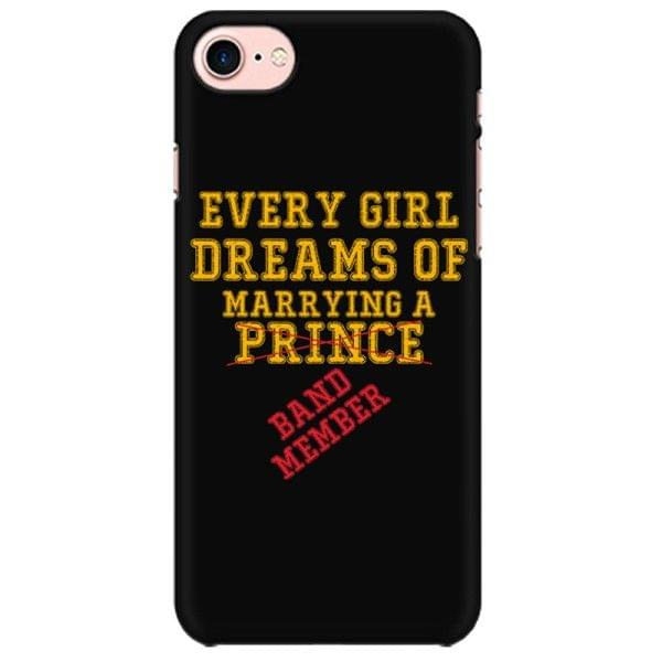 Marry a band Member Mobile back hard case cover - A37GT8QK9C4D