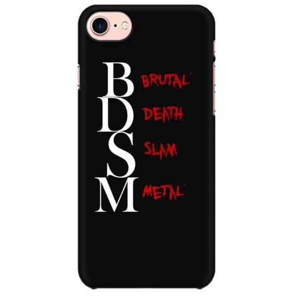 BDSM - Brutal Death Slam Metal Mobile back hard case cover - 6ZN2GR9DX3SC