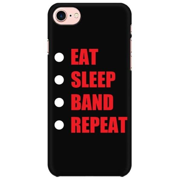 Eat Sleep Band Repeat Mobile back hard case cover - 763M7ZFDD4LR