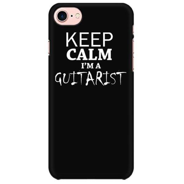 Keep calm I am Guitarist  Mobile back hard case cover - 7BQRU543FH43