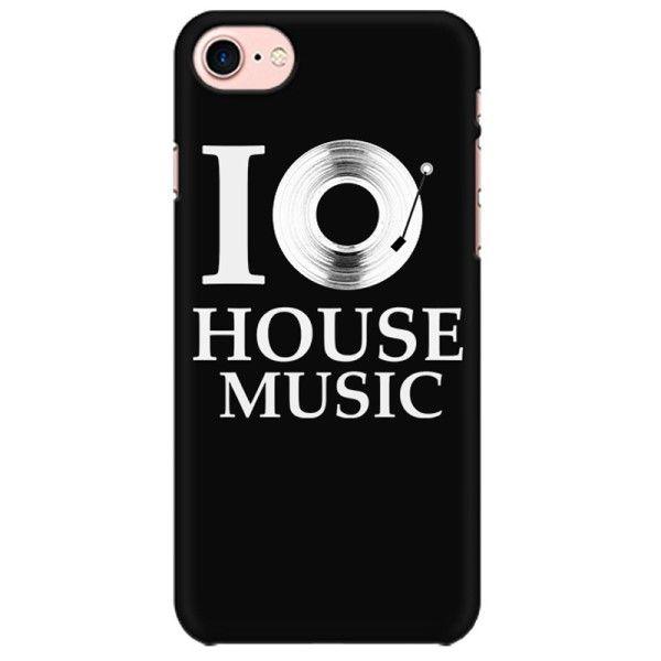 Love for House Music Mobile back hard case cover - 6ACAJ7GLKTNP