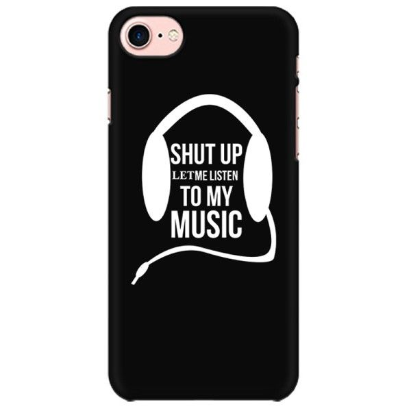 Let me listen to my music Mobile back hard case cover - 6G8BMAQ6KG94