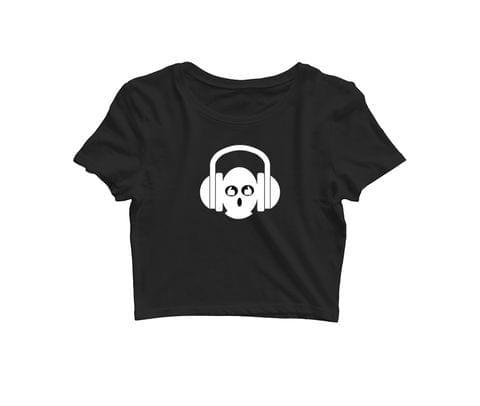 Headphone Geek   Croptop for music lovers
