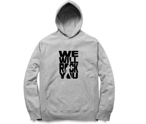 Queen   We will Rock you  Unisex Hoodie Sweatshirt for Men and Women