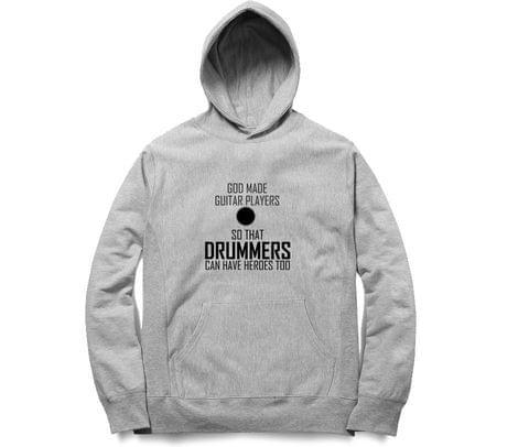 Guitarist   Drummers  Unisex Hoodie Sweatshirt for Men and Women