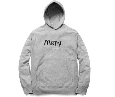Metal   Lovin'it New Design  Unisex Hoodie Sweatshirt for Men and Women