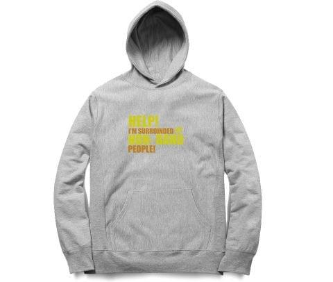 Non Band People   OMG  Unisex Hoodie Sweatshirt for Men and Women