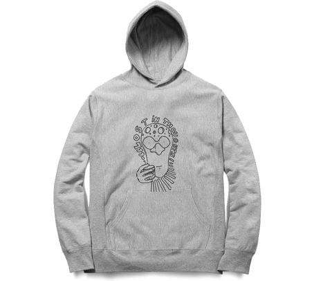 Lost in Thoughts   Unisex Hoodie Sweatshirt for Men and Women