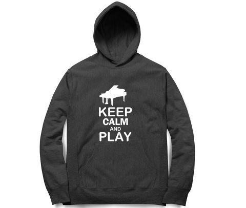Play Piano T  Unisex Hoodie Sweatshirt for Men and Women