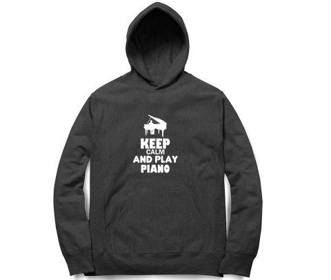Play Piano   Unisex Hoodie Sweatshirt for Men and Women