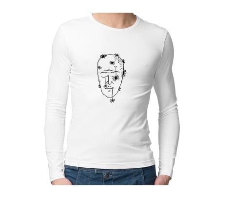 Mind is dead Trip psy Trippy Psychedelic  Unisex Full Sleeves Tshirt for men women