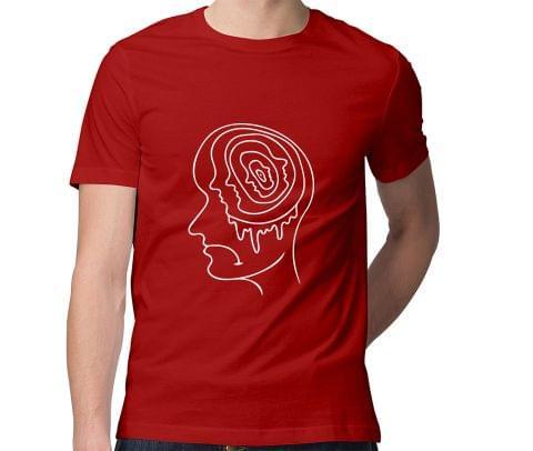 Overthinking Sadness  Men Round Neck Tshirt