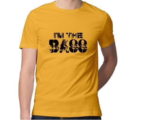 I am the Bass  Men Round Neck Tshirt