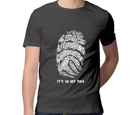 Music is in my DNA New Design T Men Round Neck Tshirt