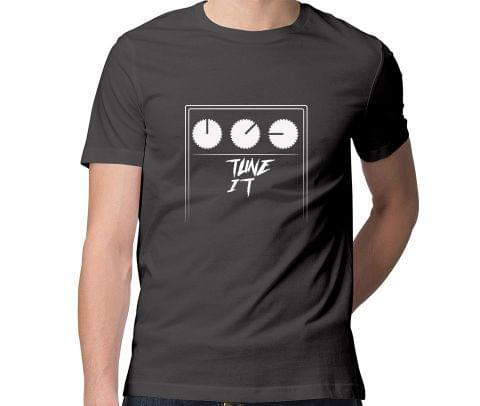 Tune It Guitarist , Music Producers  Men Round Neck Tshirt
