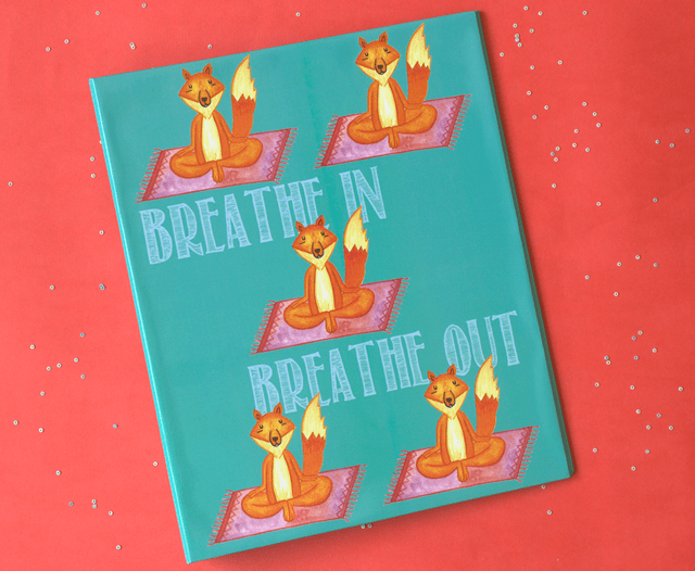 Yogi  Fox: Breath In Breath Out Big Folder